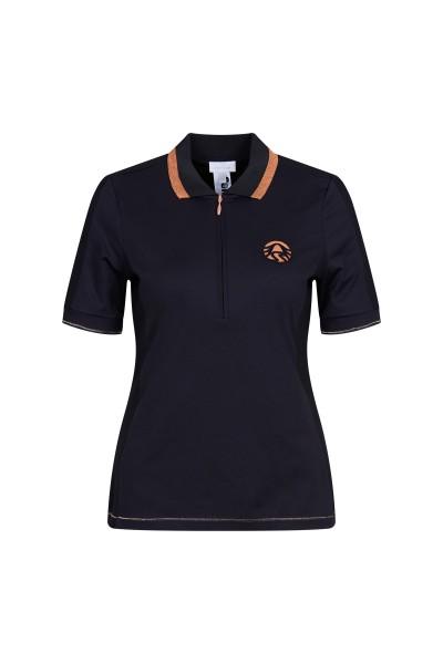 Sportalm Funktionales Poloshirt mit Lurexdetail