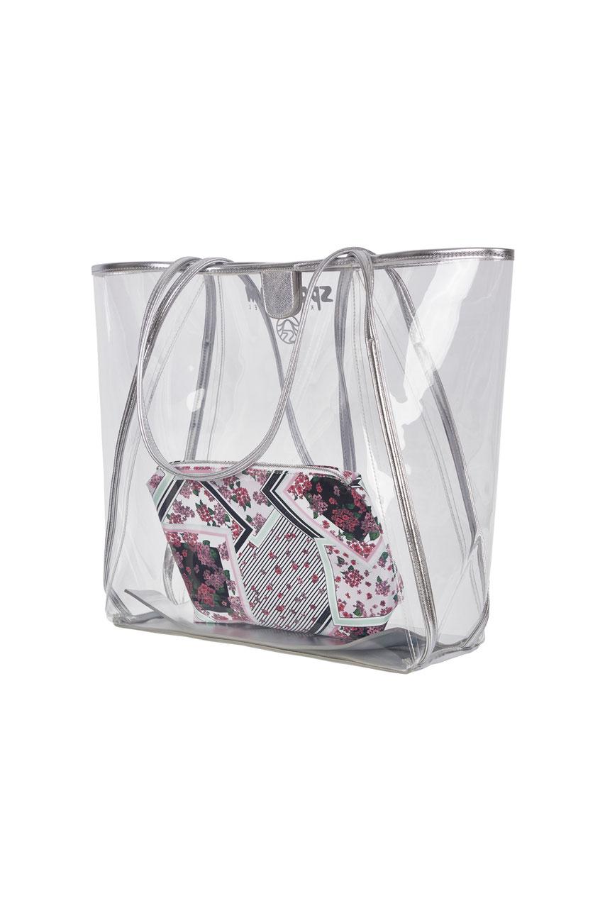 Tasche mit Kosmetiktasche