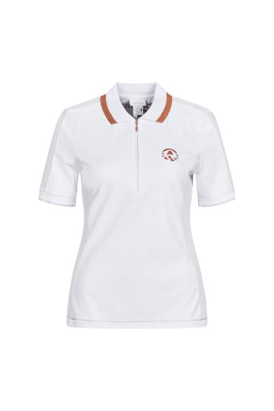 Sportalm Poloshirt mit Lurexdetail