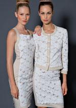 Kleid von RIANI (links im Bild) Gr. 40
