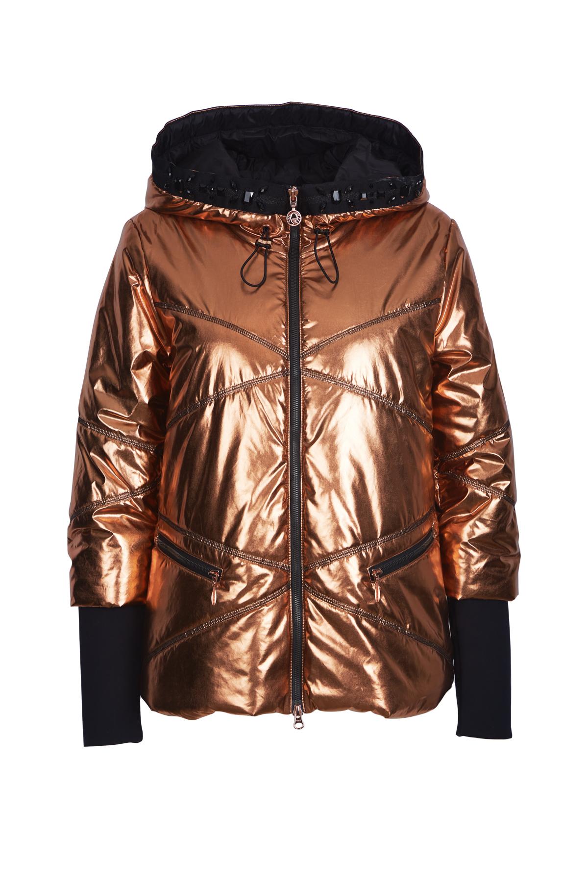 Wattierte metallisch-schimmernde Jacke von Sportalm